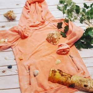 Roxy Surf Embroidered Patchwork Beach Hoodie